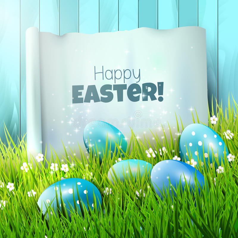 Download Easter greeting card stock vector. Illustration of beauty - 43244924