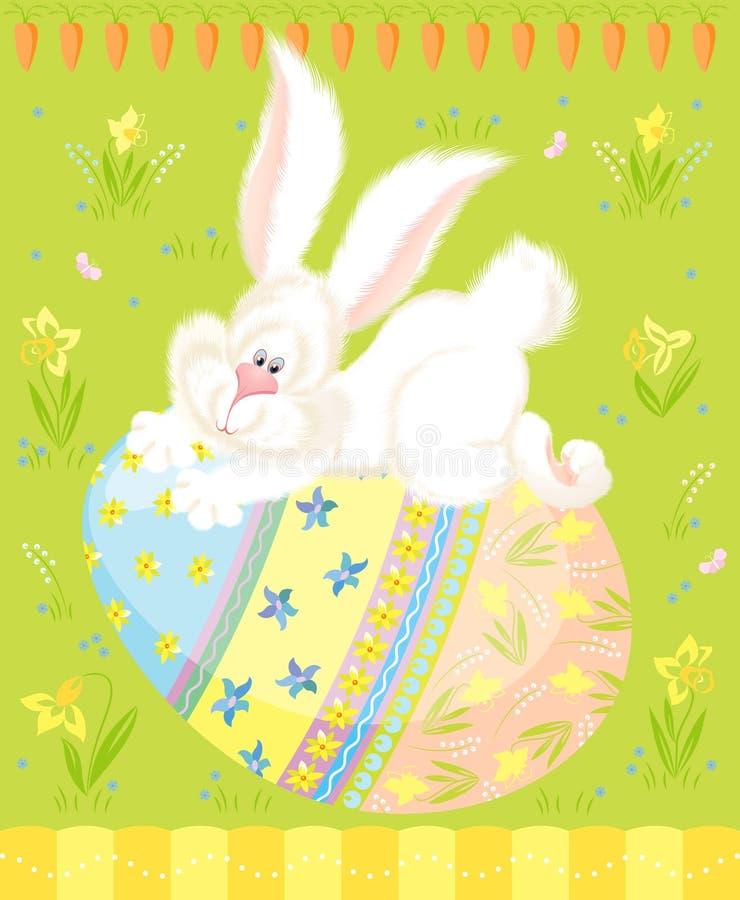 Easter greetings vector illustration