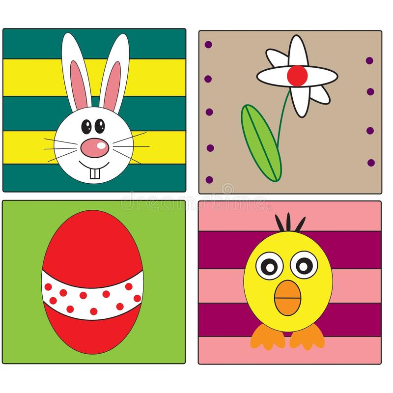 Download Easter holiday stock illustration. Illustration of family - 23875213