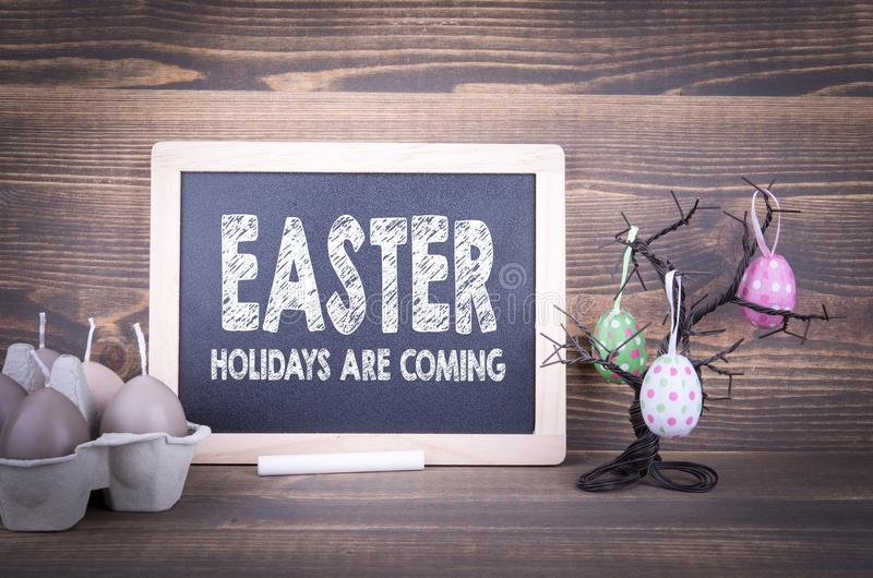 Easter, holidays are coming. Abstract holiday and spring background royalty free stock photos