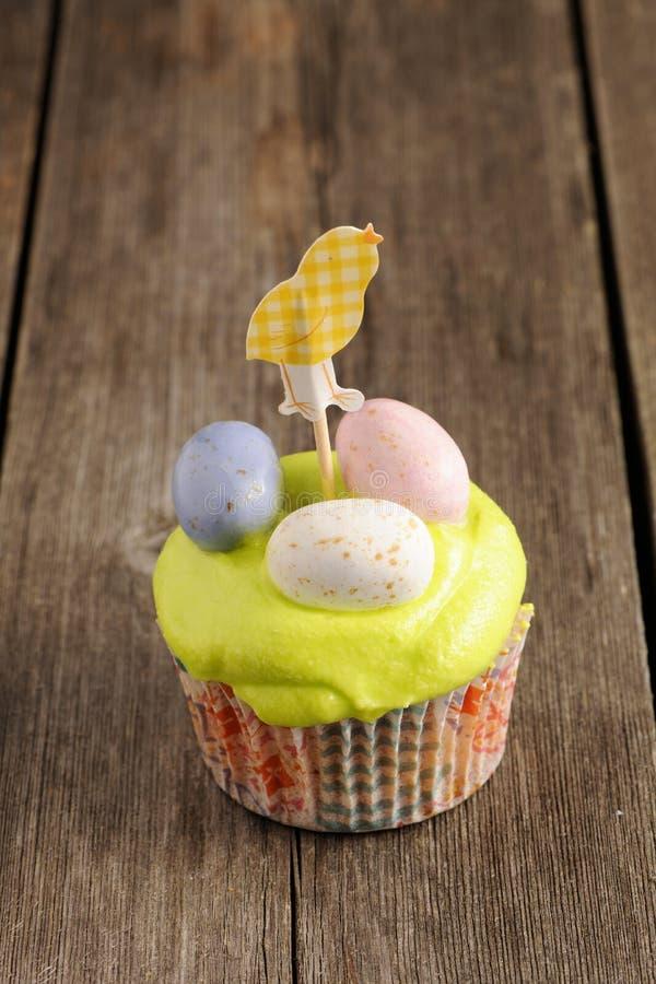 Easter Homemade Cupcake Royalty Free Stock Image