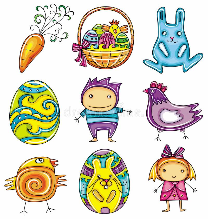 Free Easter Icons Stock Images - 18675514