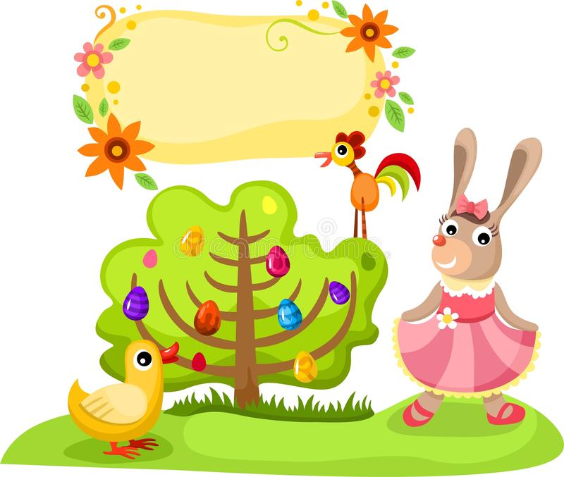 Download Easter illustration stock vector. Illustration of elements - 25301124