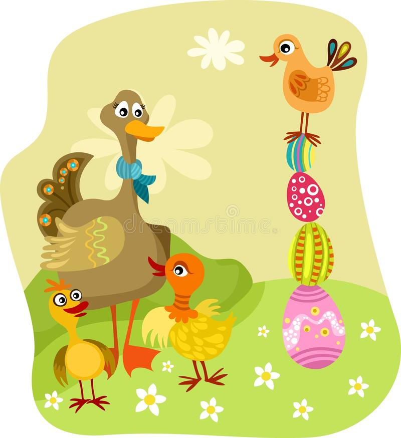 Download Easter illustration stock vector. Image of baby, spring - 28805863