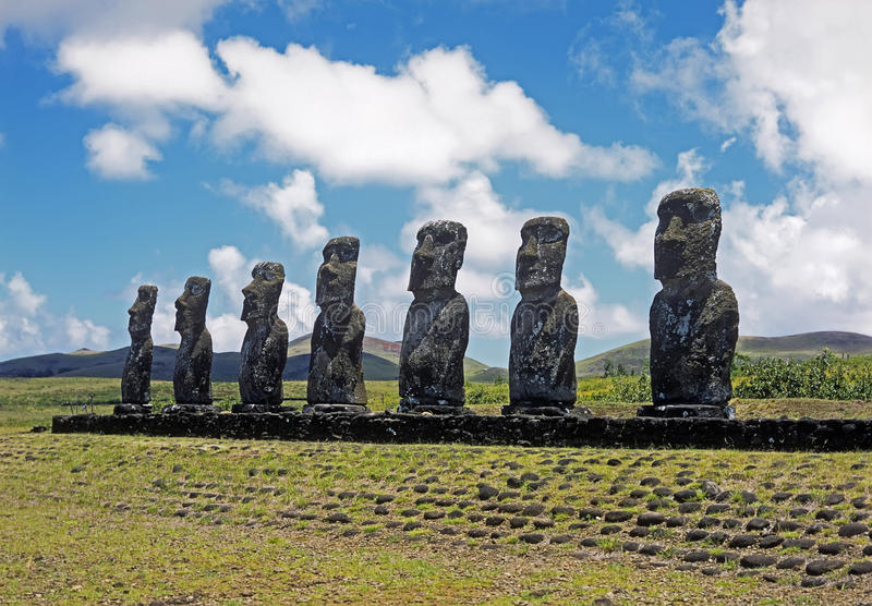 Download Easter island stock image. Image of stone, past, archeology - 19770807