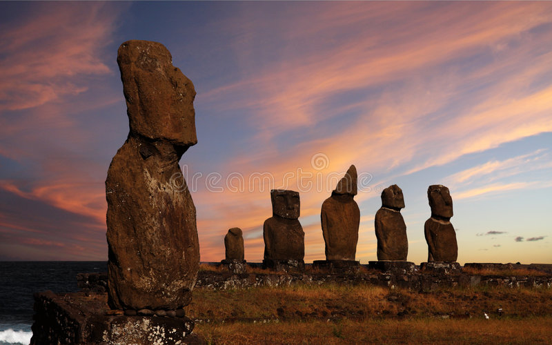 Download Easter island stock image. Image of monument, polynesia - 8878181