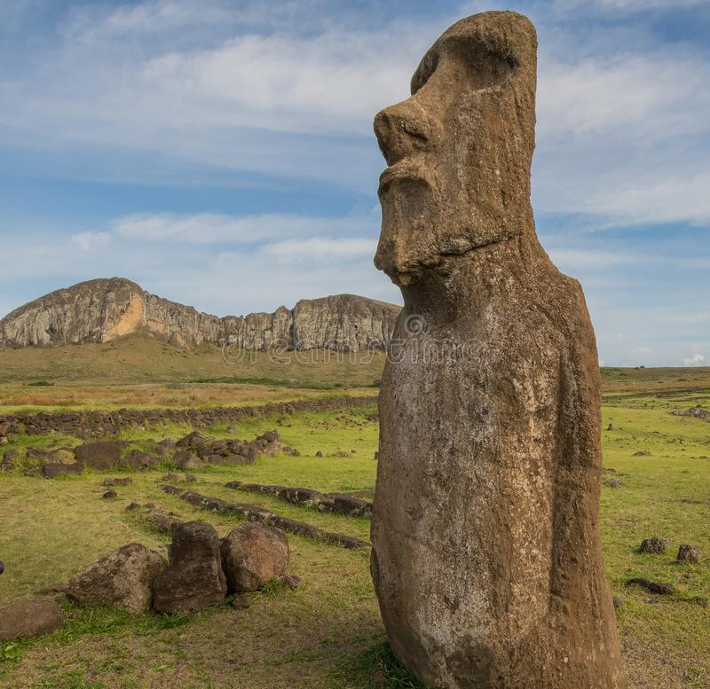 Easter Island Heads royalty free stock photos