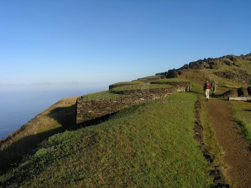 Download Easter Island - Orongo Ceremonial Village Stock Image - Image of cliff, hangaroa: 162617