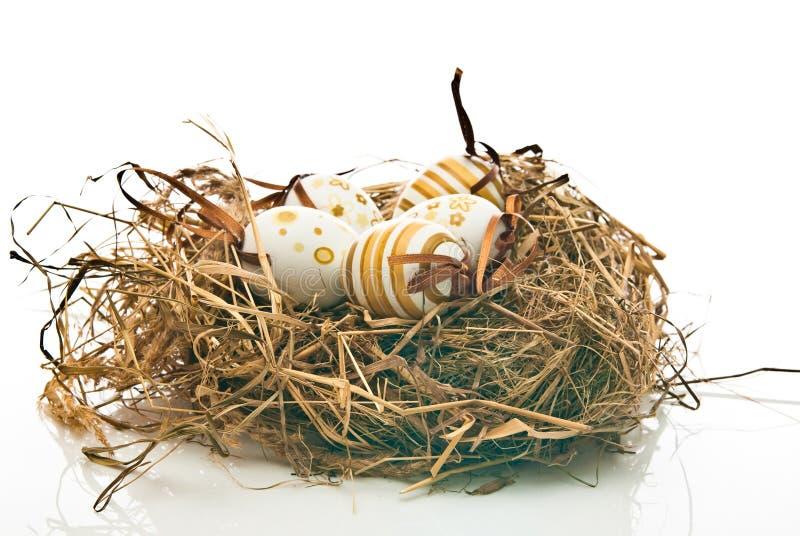 Download Easter jajek gniazdeczko obraz stock. Obraz złożonej z karty - 13325575