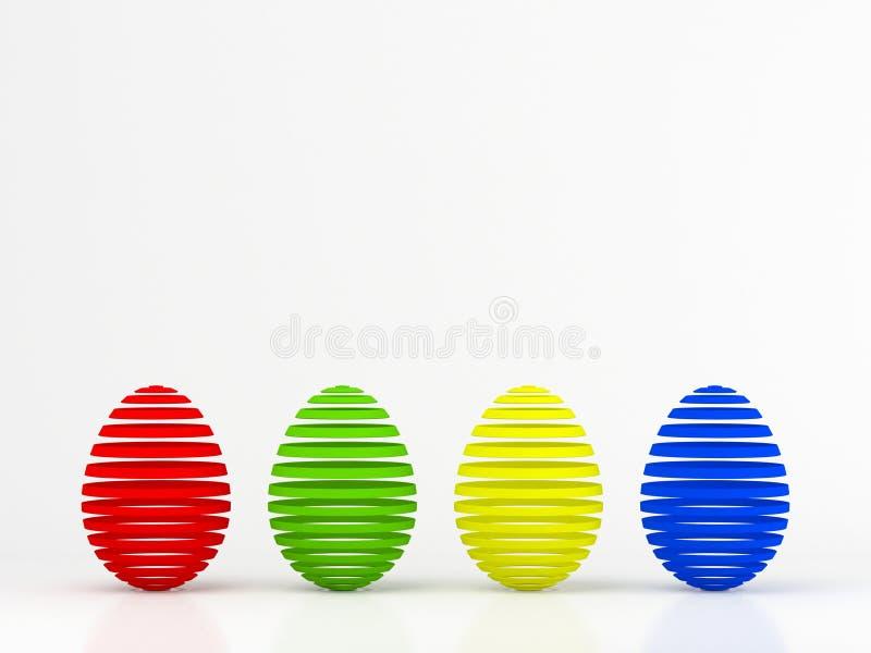 Download Easter jajka ilustracji. Ilustracja złożonej z grupa - 13340836