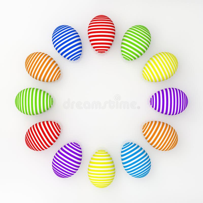 Download Easter jajka ilustracji. Ilustracja złożonej z jaskrawy - 13340844