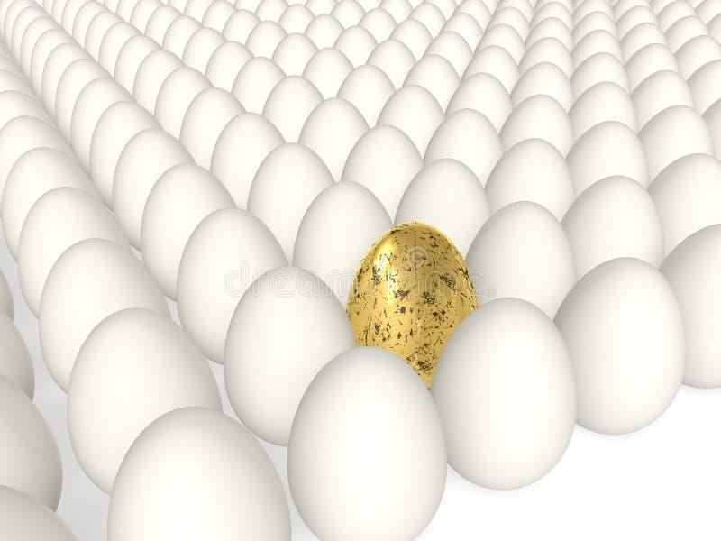 Download Easter jajka ilustracji. Obraz złożonej z objurgate, symbol - 25444268