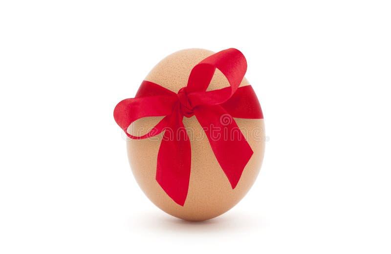 easter jajka czerwieni faborek zdjęcia stock
