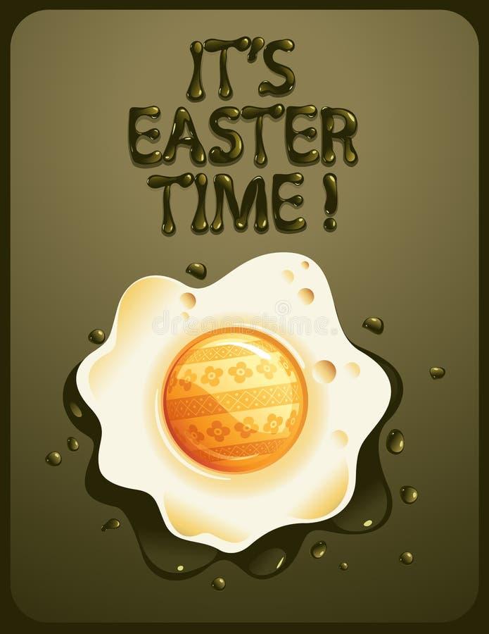 Download Easter jajko ilustracja wektor. Obraz złożonej z easter - 8400833