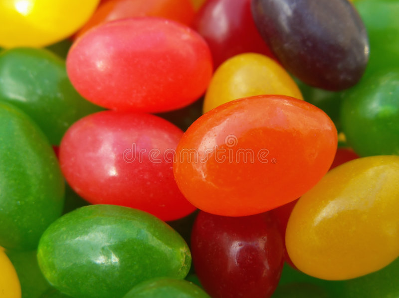 Easter Jelly Beans Royalty Free Stock Images
