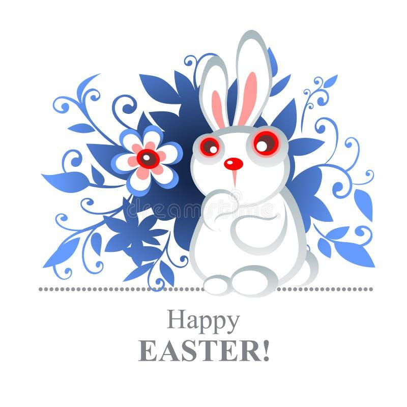 easter kanin royaltyfri illustrationer