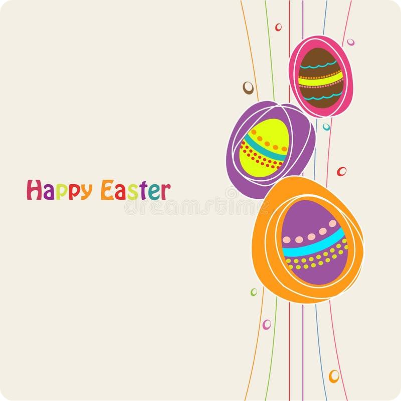 Download Easter karciany powitanie ilustracja wektor. Ilustracja złożonej z granica - 13328534