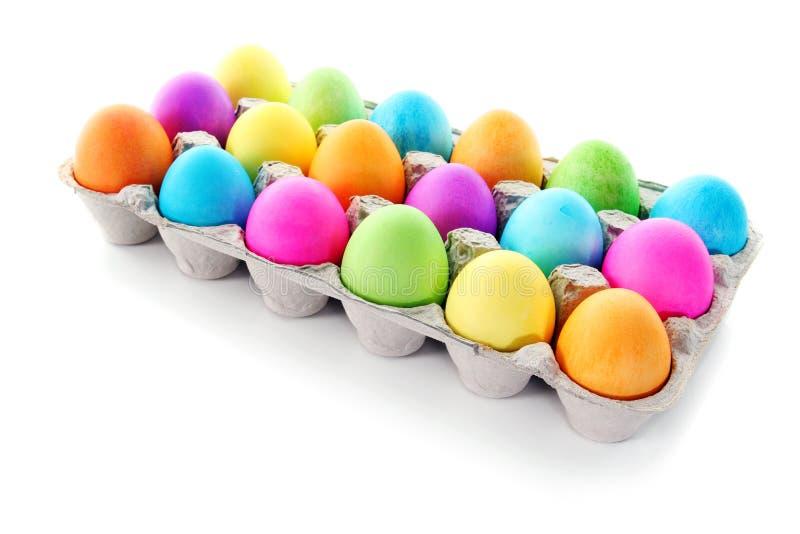 easter kolorowi jajka zdjęcia stock