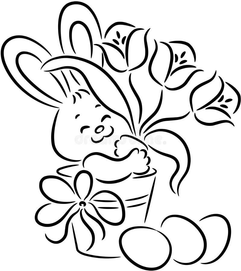 easter królik ilustracji