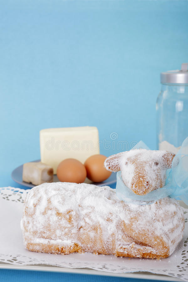 Download Easter Lamb Cake Stock Photos - Image: 25673823