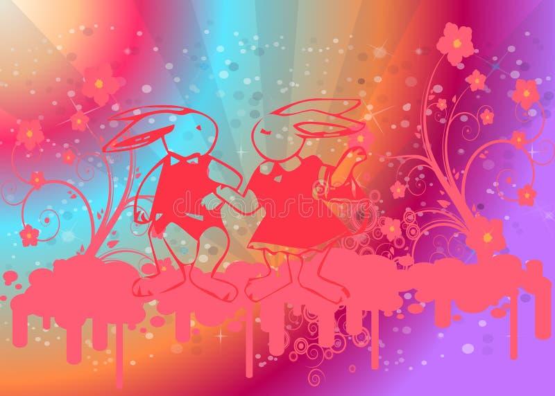 Download Easter love 4 stock illustration. Illustration of animal - 8450971