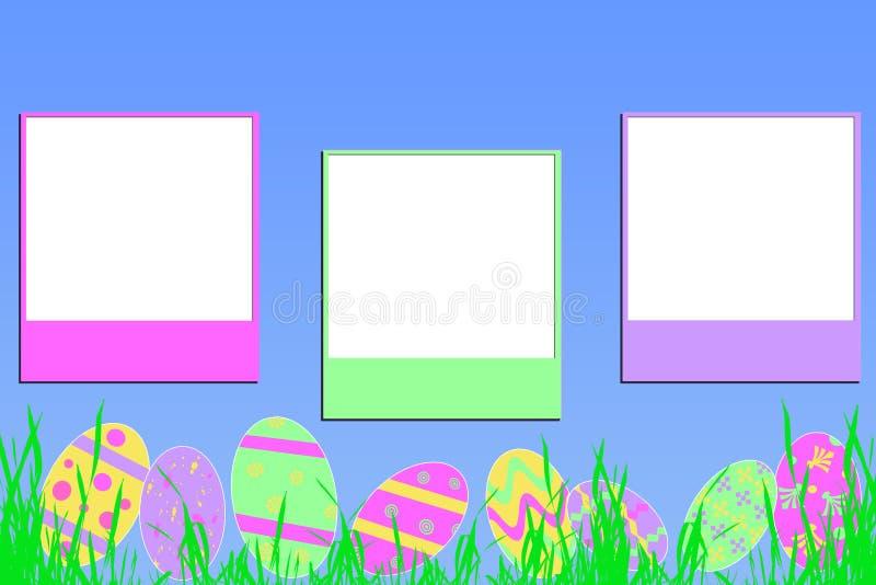 Download Easter memories on blue stock illustration. Image of design - 4242402