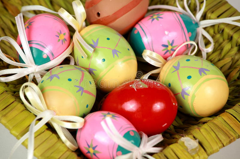 Easter ornament stock image