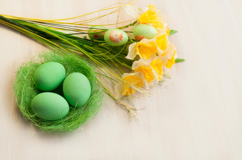 Easter ornament for a holiday royalty free stock photos