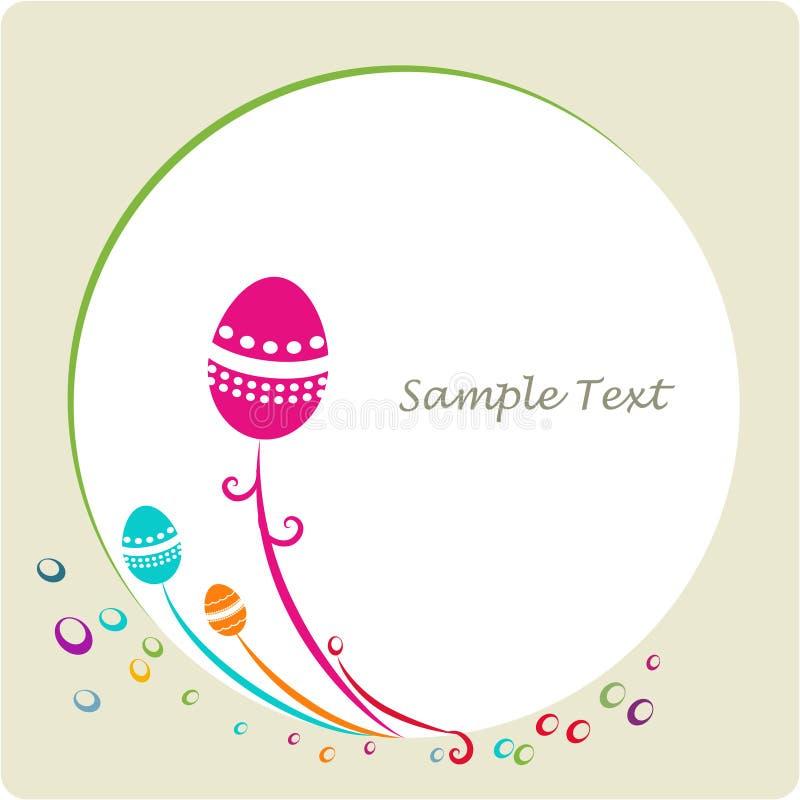 Easter ornamental decorative frame