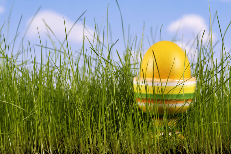 Easter-ovo imagens de stock