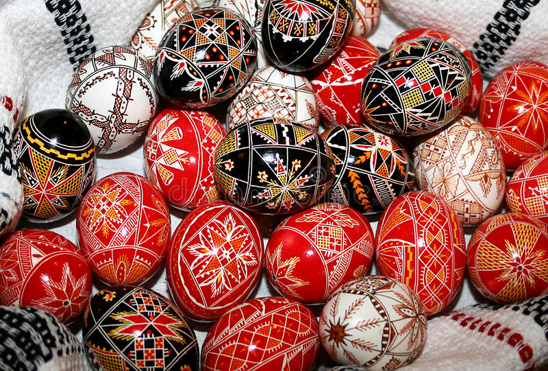Download Easter Painted Eggs Stock Photo - Image: 12878840