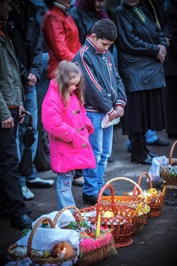 Download Easter, Parishioners Of The Orthodox Church Editorial Image - Image of celebrate, religion: 24450690