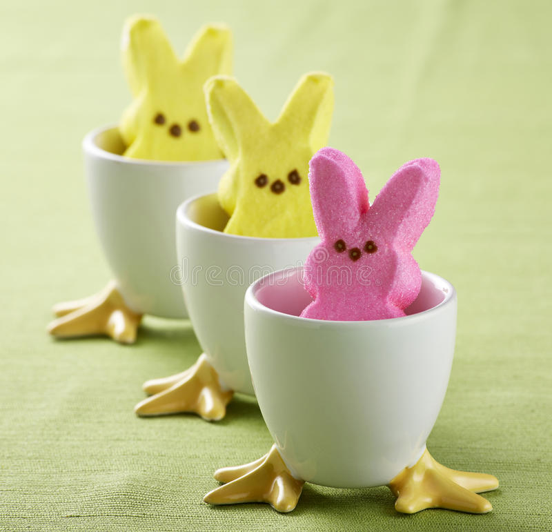 Easter Peeps Stock Image. Image Of Yellow, Colors, Easter