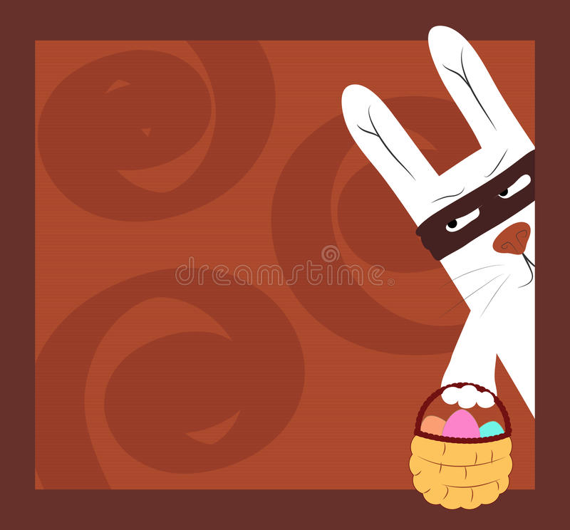 Download An easter postcard stock vector. Illustration of holiday - 23609340