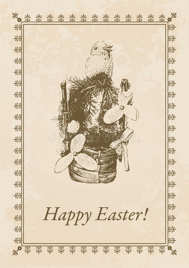 Download Easter Postcard Stock Photo - Image: 8697850