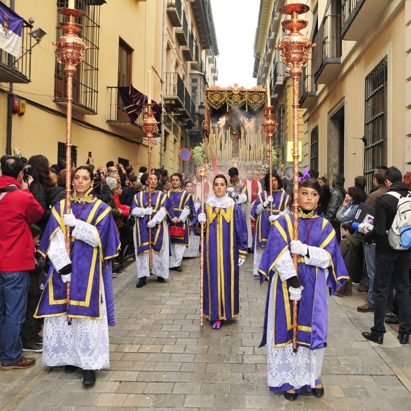 Easter Procession in Granada, Spain