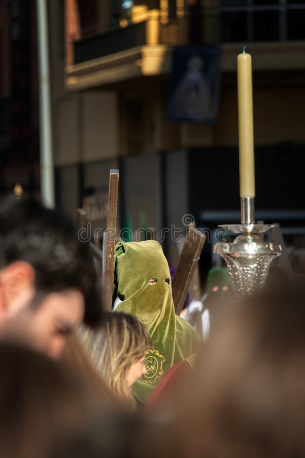 Easter Procession in Seville, Spain stock image