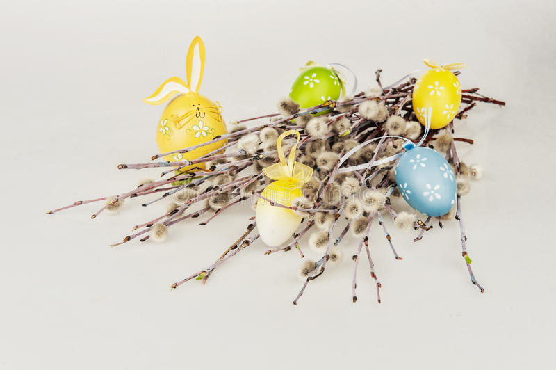 Easter willow stock images
