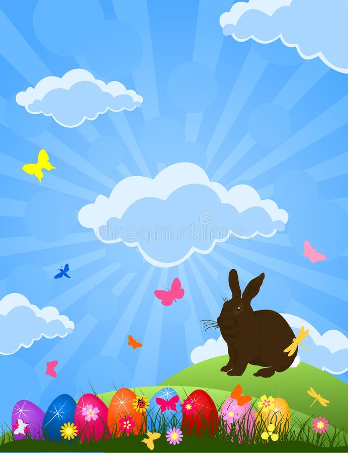 Download Easter rabbit stock photo. Image of nature, rabbit, icon - 17755728