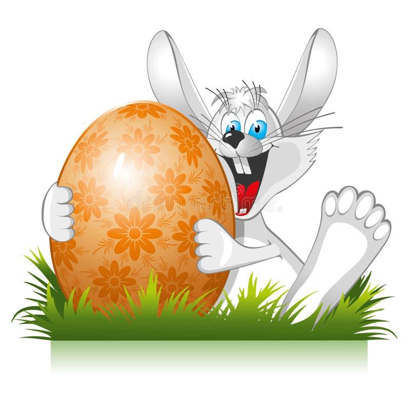 Easter rabbit royalty free stock photos