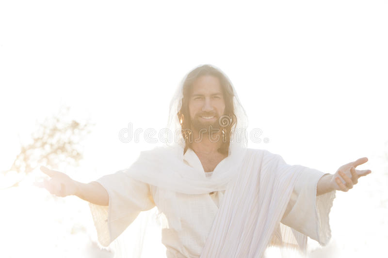 Easter Risen Embrase stock photo