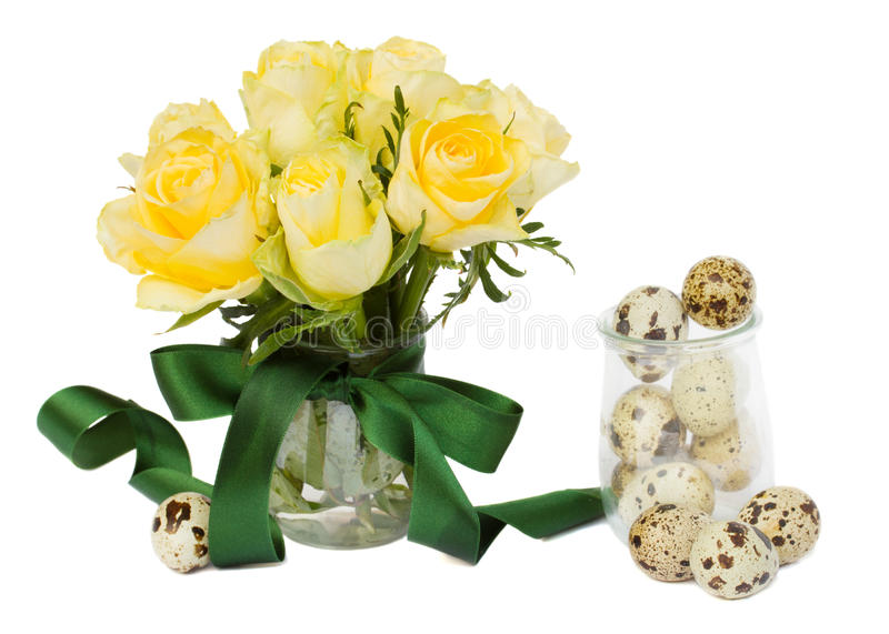 Download Easter roses posy stock image. Image of festive, closeup - 29061399