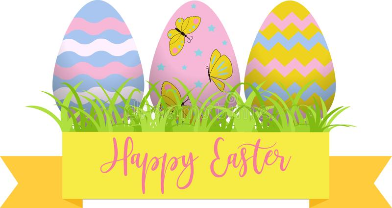 Decorative easter eggs easter scenee main symbols of the holiday download decorative easter eggs easter scenee main symbols of the holiday vector negle Choice Image