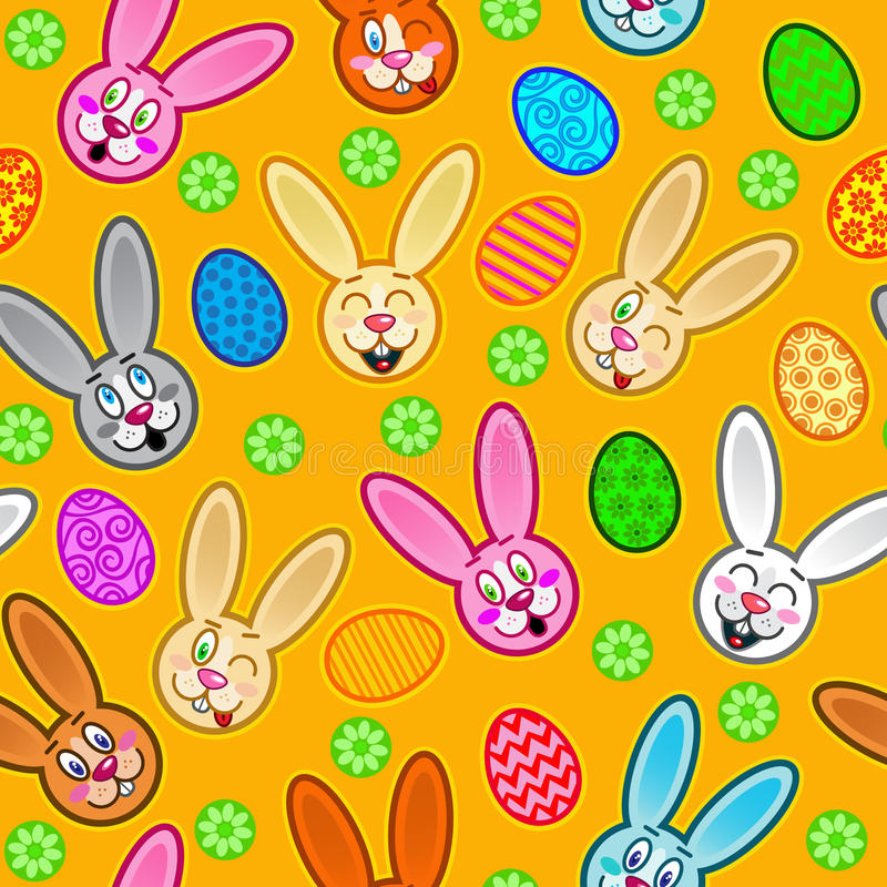 Download Easter Seamless Pattern stock vector. Image of easter - 18991938