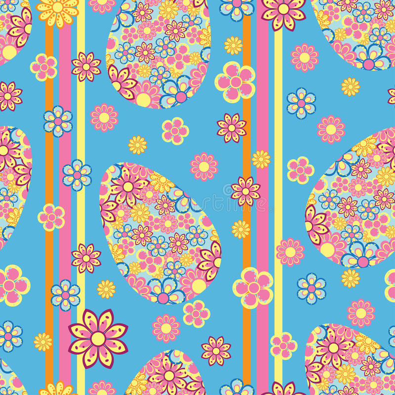 Download Easter seamless pattern stock vector. Image of green - 18999207