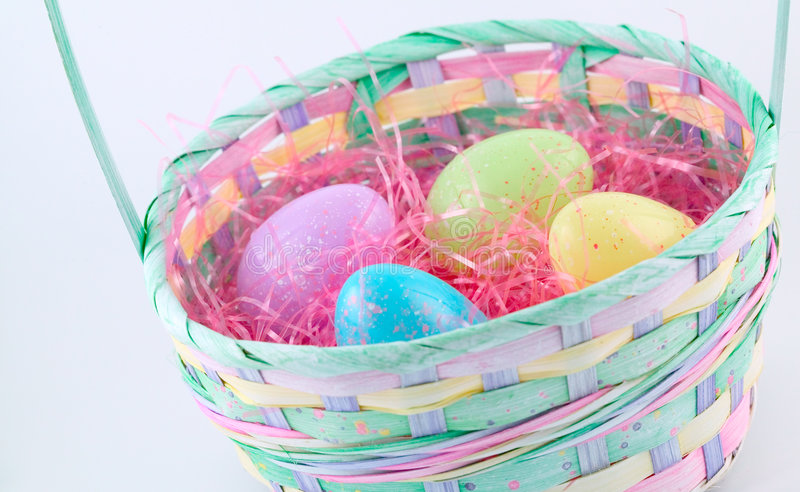 Download Easter series - basket 1 stock photo. Image of weave, holiday - 76060