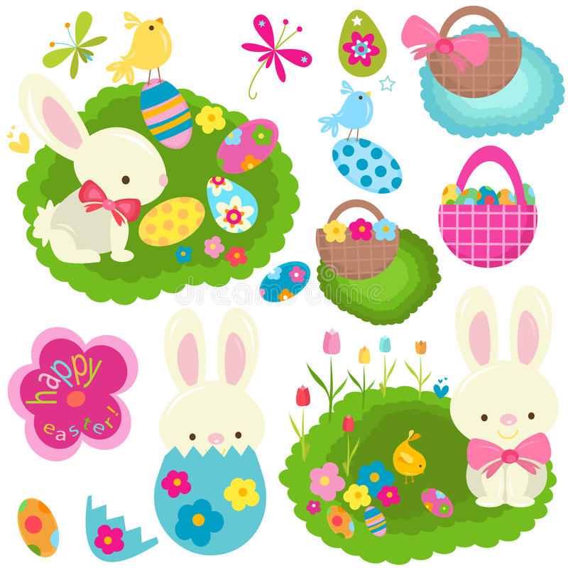 Free Easter Set Stock Photo - 28699660