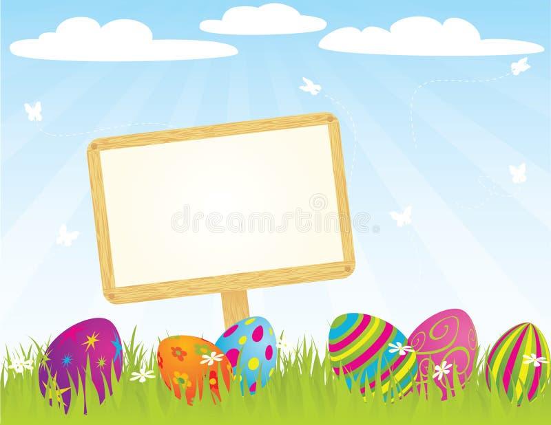 Download Easter_sign_ stock vector. Illustration of background - 23401398