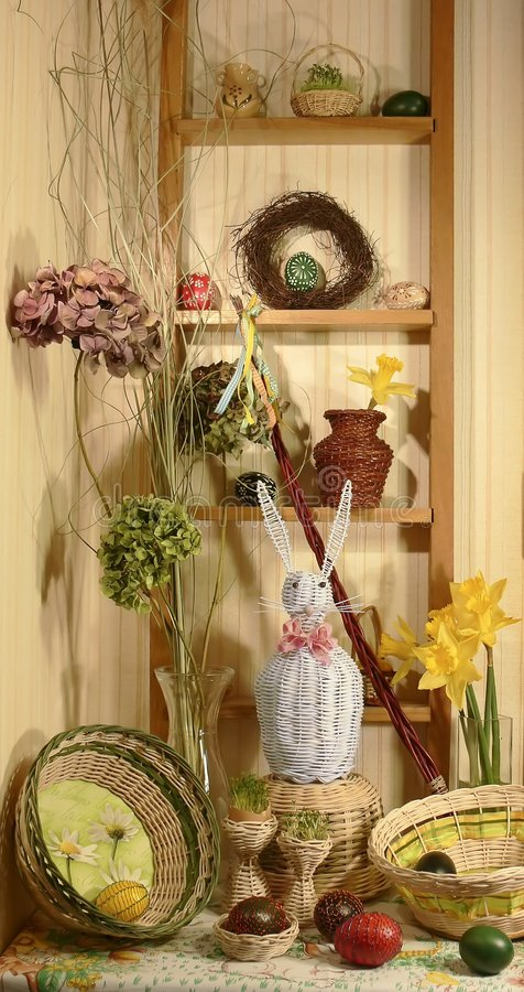Free Easter Still Life Royalty Free Stock Photography - 2010727