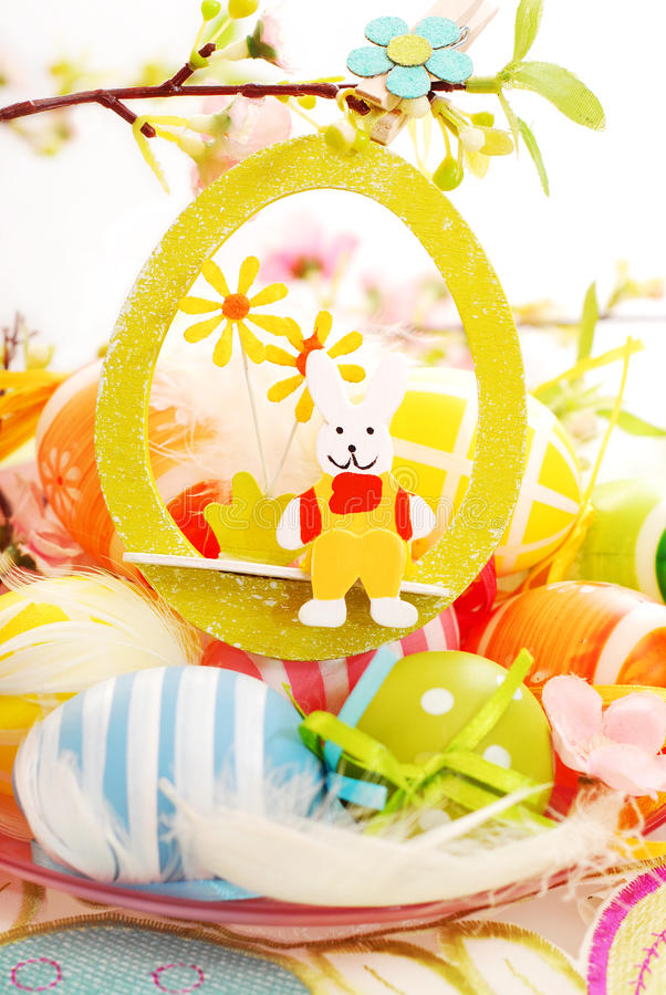 Download Easter still life stock photo. Image of rabbit, april - 29944880